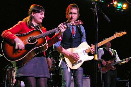 Stephanie Finch and Chuck Prophet