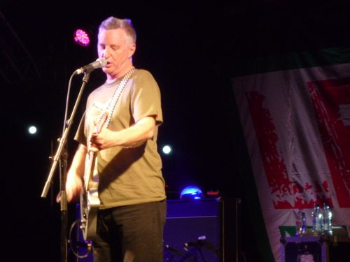 Billy Bragg at Glastonbury Festival 2011