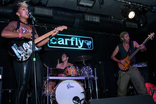 Music Band The MATILDAZ playing live at the Barfly Camden Town 20th July 2013. Photograph Simon Lamrock